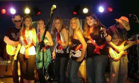 stage full of Birthday Girls
