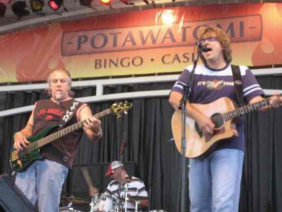 Potawatomi stage at Summerfest