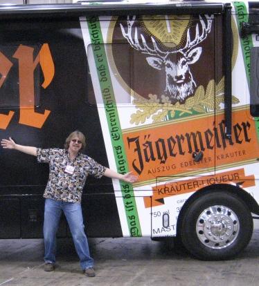 Troye's new tourbus